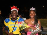 Last years homecoming King and Queen Darius Walker and Tranae Lauterdale